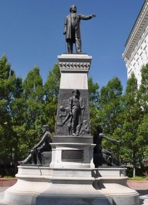 The Brigham Young Monument image. Click for full size.