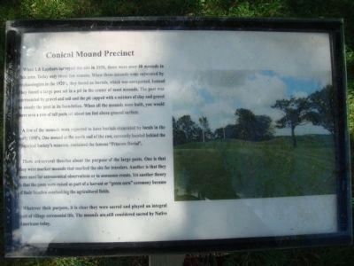 Related Aztalan Mound Marker Photo, Click for full size