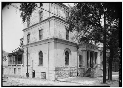 William Scarbrough House , Historic American Engineering Record , HABS GA,26-SAV,39-8 Photo, Click for full size