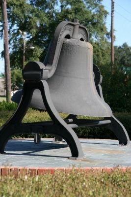 Cast Iron Bell at the Chabannes - Sealy House Photo, Click for full size