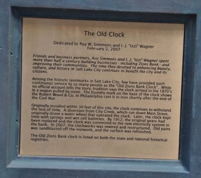 The Old Clock Marker image. Click for full size.