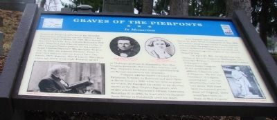 Pierpont Graves Marker image. Click for full size.