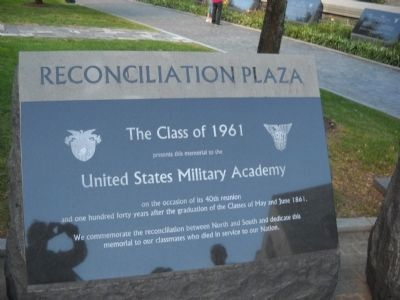 Reconciliation Plaza Marker image. Click for full size.