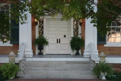 The Friedman Home Front Door image. Click for full size.