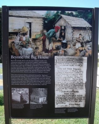 Beyond the Big House Marker image. Click for full size.