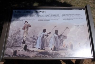 Sow…Tend…Harvest Marker image. Click for full size.