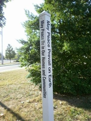 Marker located next to the house image. Click for full size.