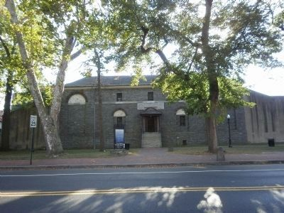 Historic Burlington County Prison Museum and Marker image. Click for full size.