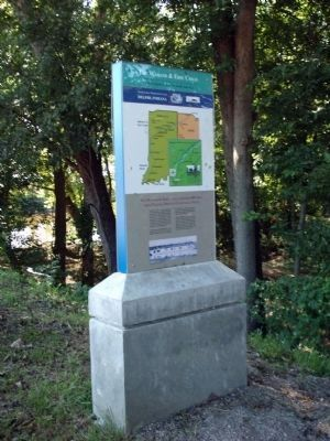 The Wabash & Erie Canal Marker image. Click for full size.