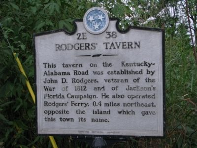 Rodgers' Tavern Marker image. Click for full size.