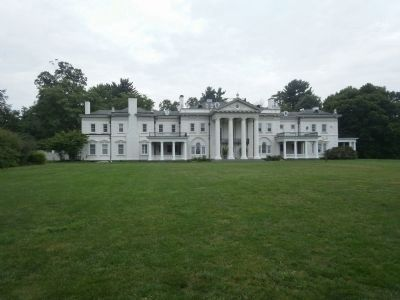 Blithewood Manor on Bard College Campus Located Across From Tree image. Click for full size.