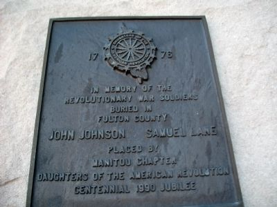Revolutionary War Memorial Marker image. Click for full size.
