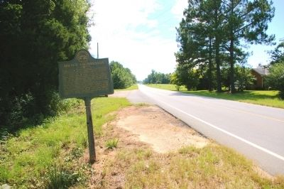 Irwin's Crossroad Marker image. Click for full size.