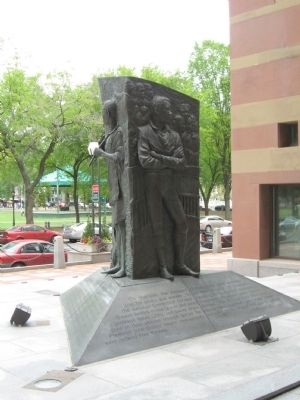 Amistad Memorial image. Click for full size.