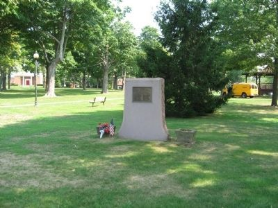 East Haven World War II Memorial image. Click for full size.