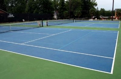 Tennis Court Photo, Click for full size