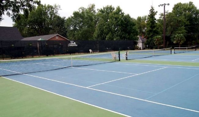 Belton Tennis Association Tennis Court Photo, Click for full size