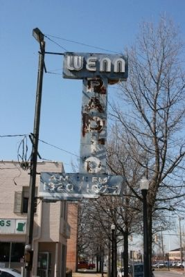 WENN Radio sign Photo, Click for full size