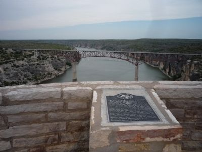"""Pecos River High Bridge"" image. Click for full size."