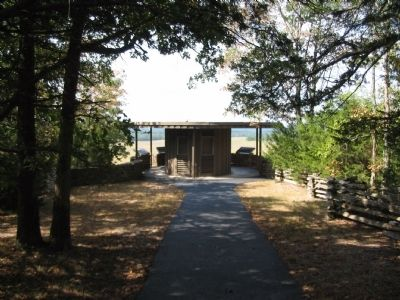 Gazebo at the Overlook image. Click for full size.