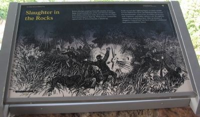 Slaughter in the Rocks Marker image. Click for full size.