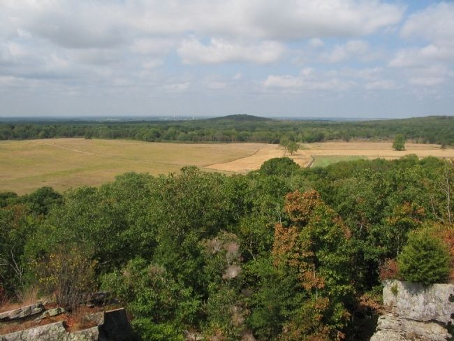 View of the Leetown Sector of the Battlefield image. Click for full size.
