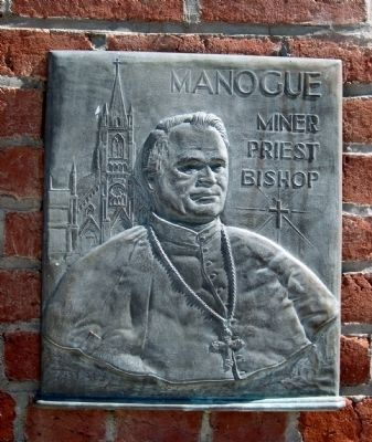 """Manogue - Miner, Priest, Bishop"" image. Click for full size."