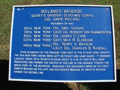 Ireland's Brigade Marker image. Click for full size.