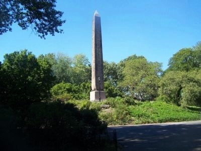 Cleopatra's Needle Marker image. Click for full size.
