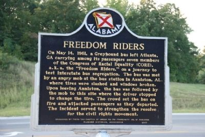Freedom Riders Marker Photo, Click for full size