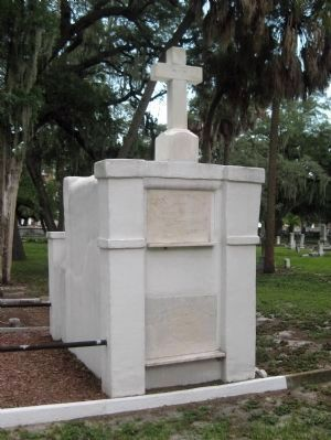 Grave of Vicente Martinez Ybor image. Click for full size.