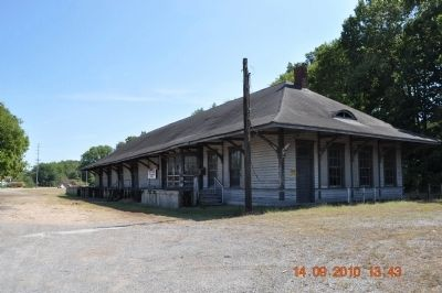 East Florence Historic District -Train Depot image. Click for full size.