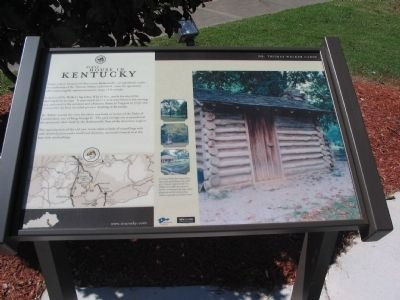 First House in Kentucky Marker image. Click for full size.