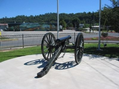 Reproduction Cannon and Mural image. Click for full size.
