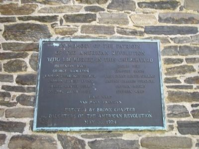 Patriots of the American Revolution Marker image. Click for full size.