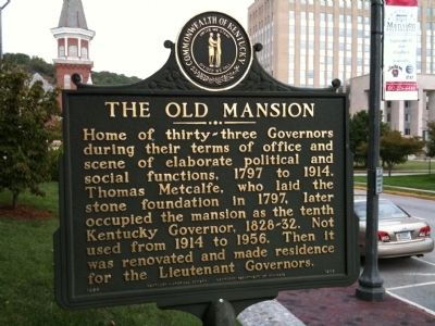 The Old Mansion Marker image. Click for full size.