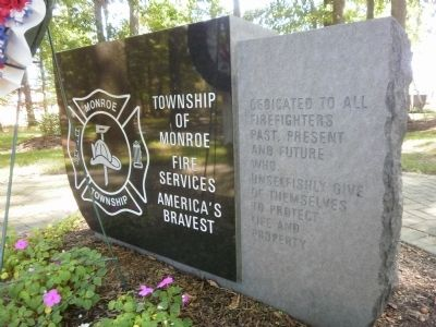 Township of Monroe  Fire Services  America's Bravest image. Click for full size.