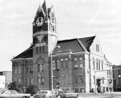Third Anderson County Courthouse<br>Courthouse Square image. Click for full size.