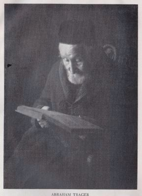 Abraham Isaac Trager, community spiritual leader, Father of Rachel Visanska image. Click for full size.
