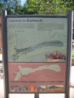 Gateway to <i>Kaintuck</i> Marker image. Click for full size.