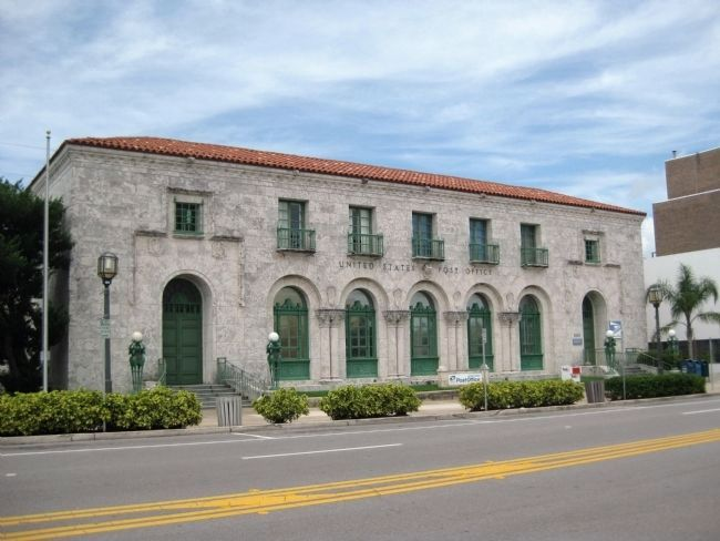 United States Post Office, Daytona Beach, Florida image. Click for full size.