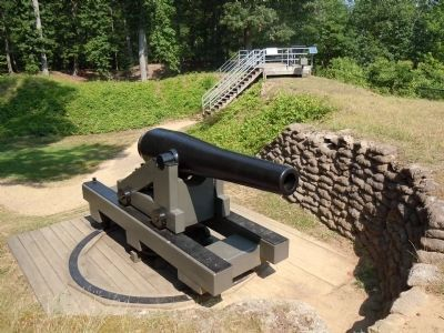 Cannon on Drewry's Bluff image. Click for full size.