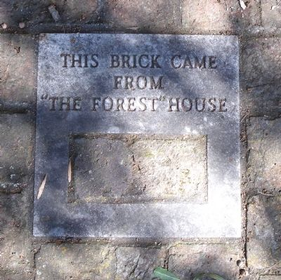 "This brick came from ""The Forest"" house image. Click for full size."