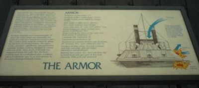 "Interpretive panel : ""The Armor"" image. Click for full size."