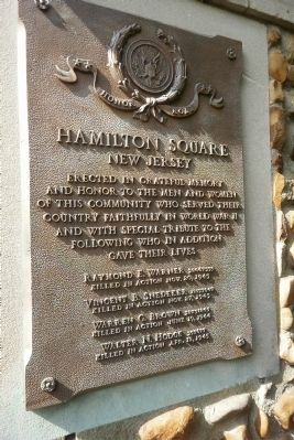 Honor Roll Marker Photo, Click for full size