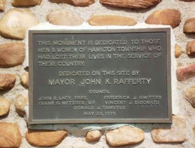 Dedication Marker Photo, Click for full size