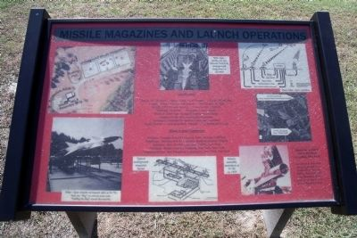 Missile Magazine and Launch Operations Marker image. Click for full size.