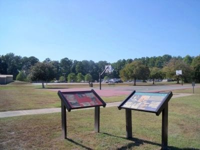 N-75L markers at Carrollton Nike Park image. Click for full size.