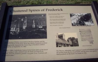 Clustered Spires of Frederick Marker Photo, Click for full size