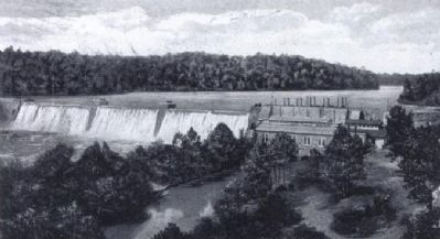 Portman Shoals Power Plant, Seneca River image. Click for full size.